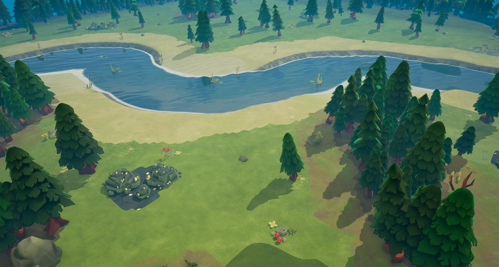 RTS Cartoon Environment