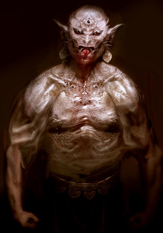 Amro attia demon torso01