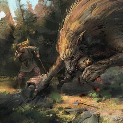 Filip storch when the werewolves have their way by skvor daeh992