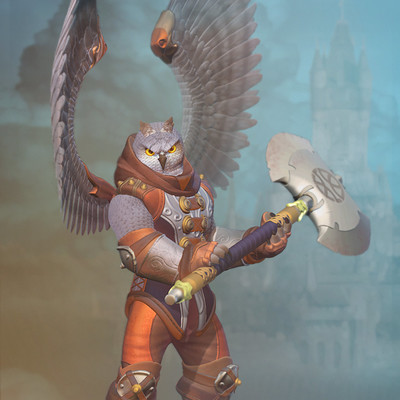 Vitaliy buyanov warrior owl arkhaun by vitosabu d9ij78h