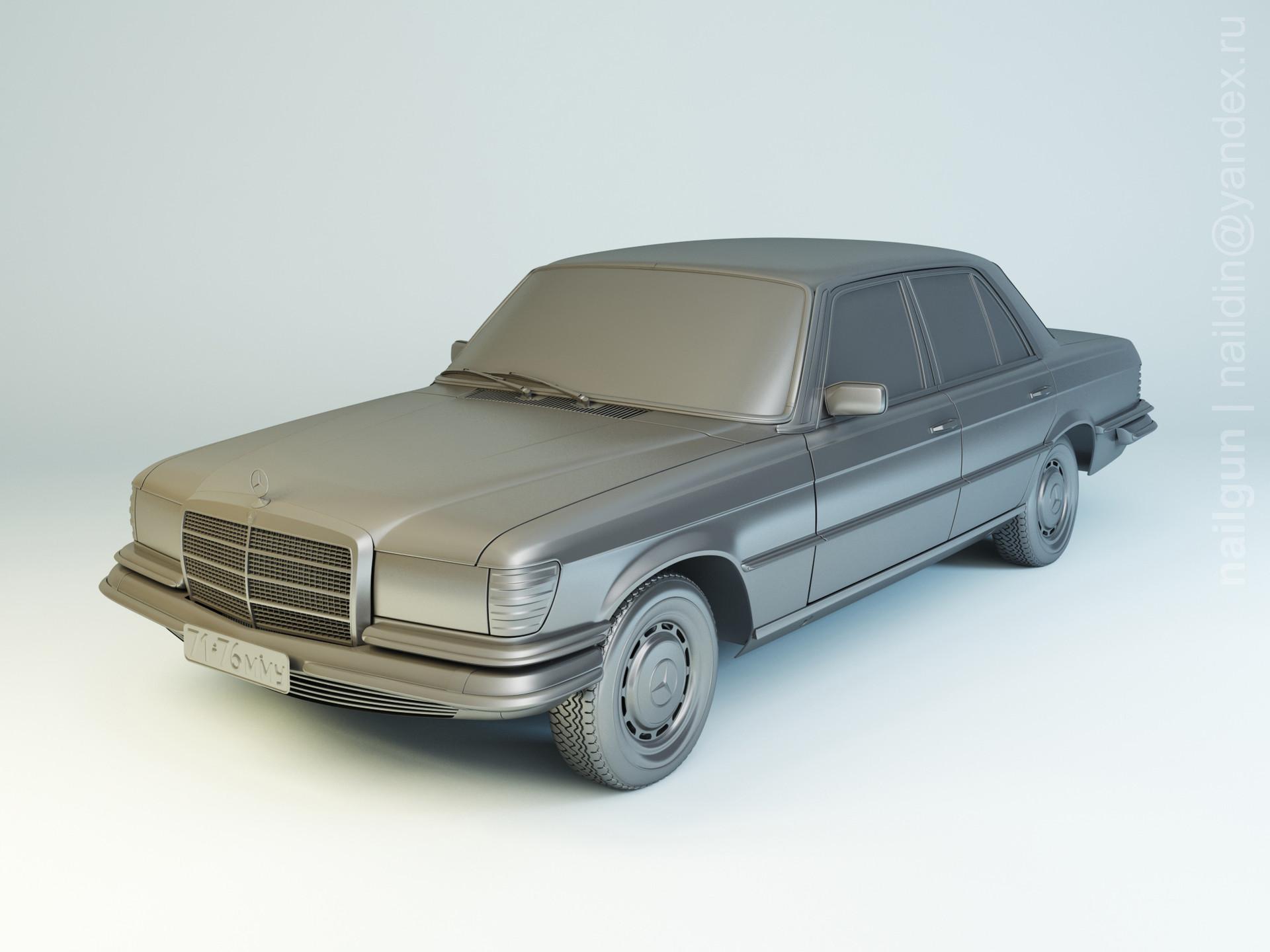 Nail khusnutdinov pwc 022 004 mercedes w116 modelling 0