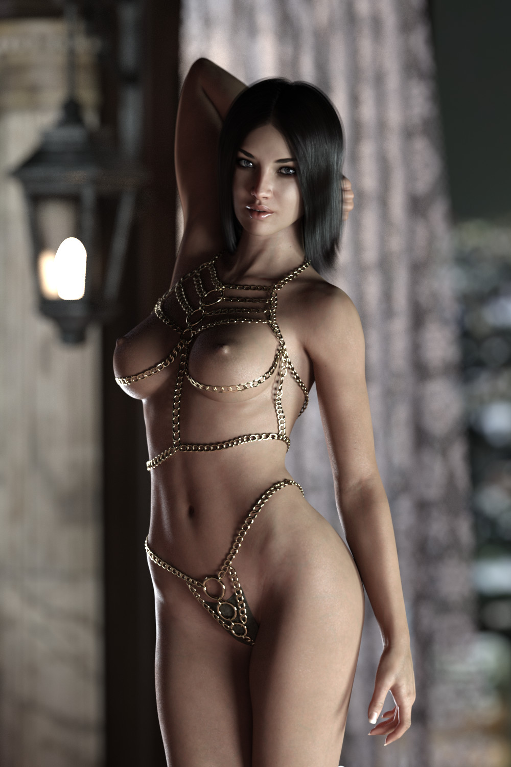 She is cute she fights and again get back together.she will be best wife :)