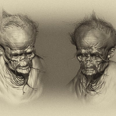 3D sculpt creature