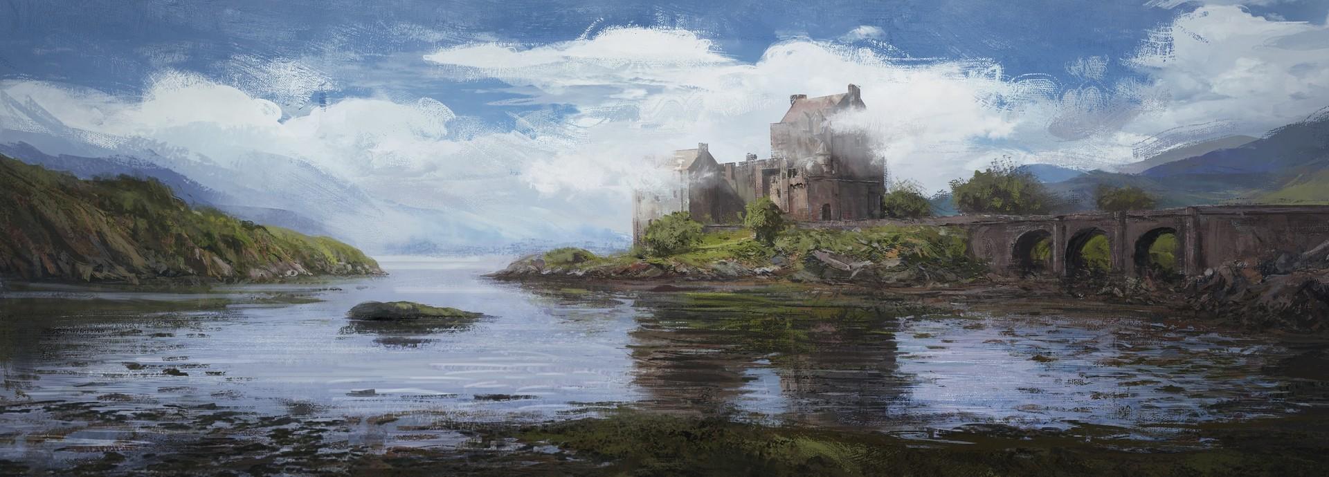 Najeeb najjar eilean donan castle