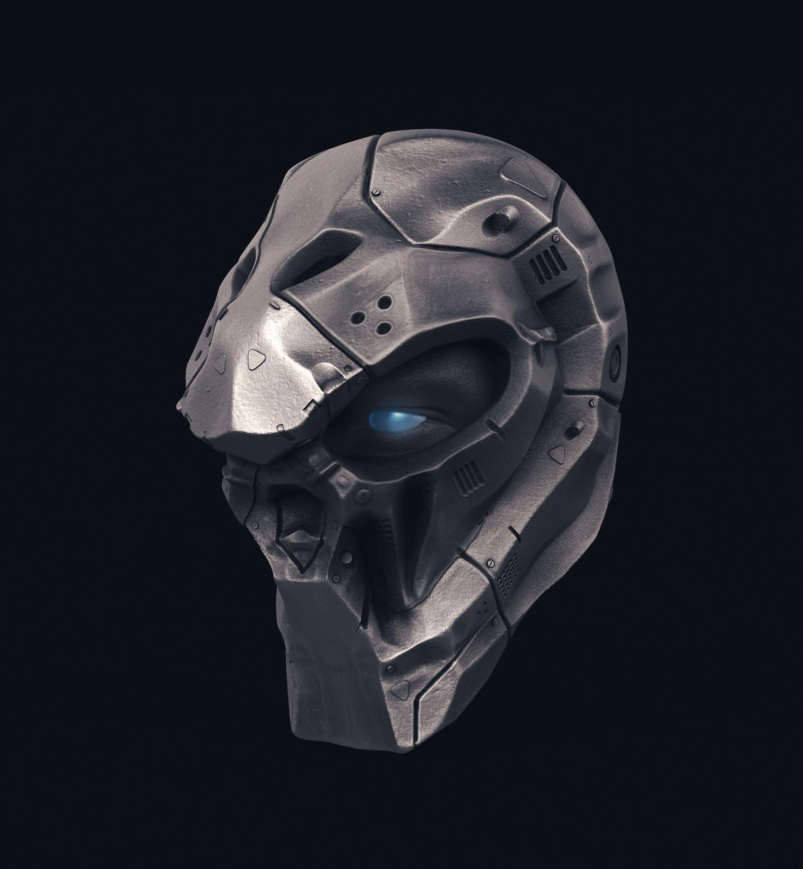 Ry cloze skull robot2