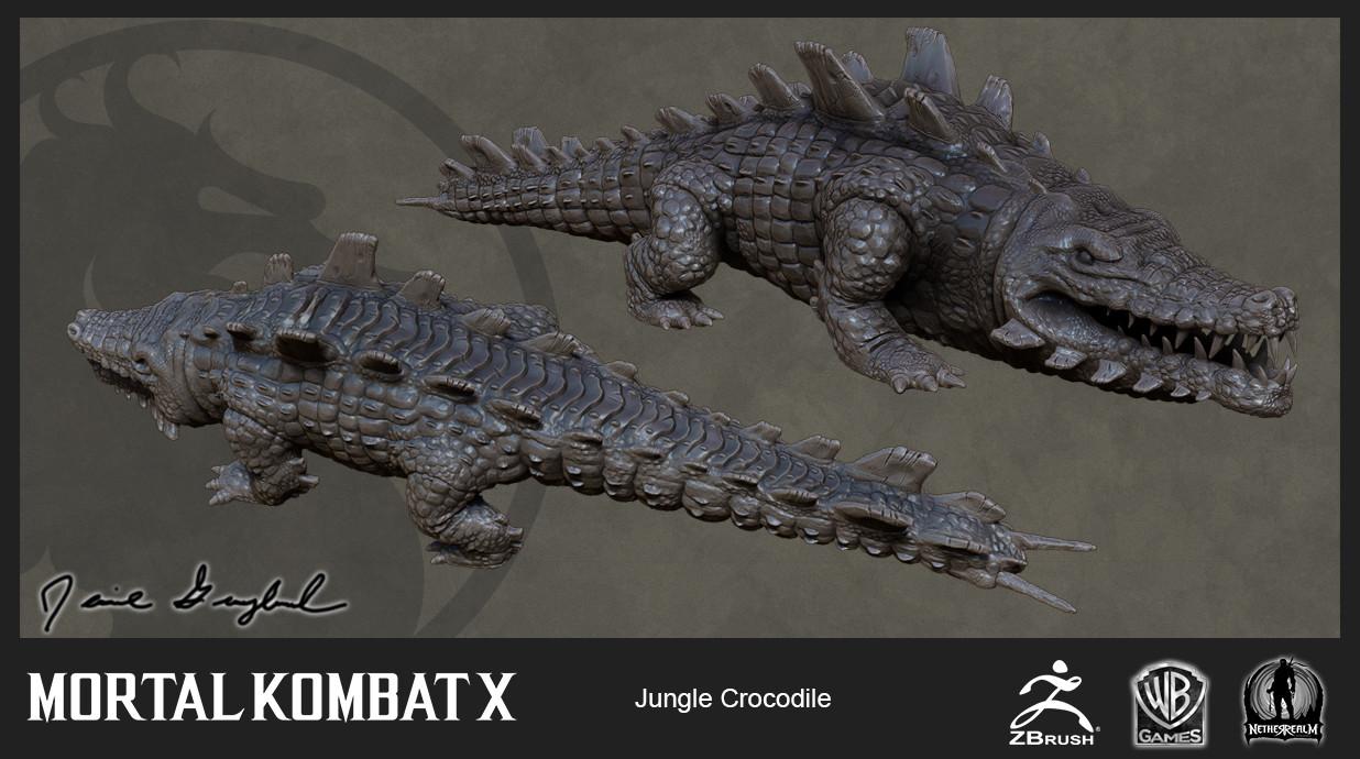 Jungle Crocodile