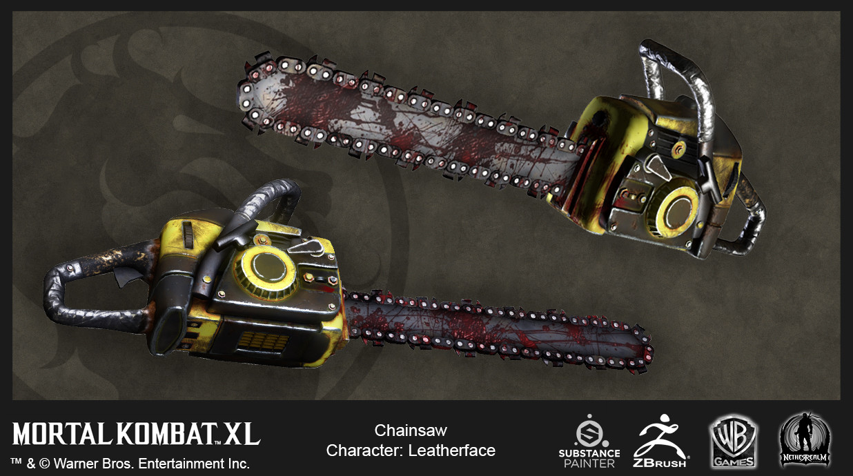 Leatherface Chainsaw in-Game