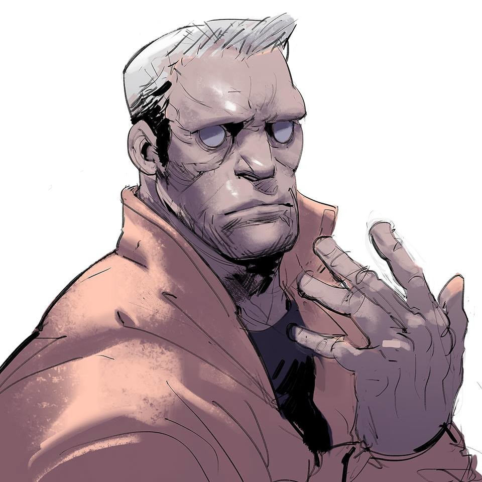 One of my biggest challenges is to maintain the same flow I have with my pencil but using ink brush, sounds easy but it's not when you are out of your comfort zone... BATOU in da house