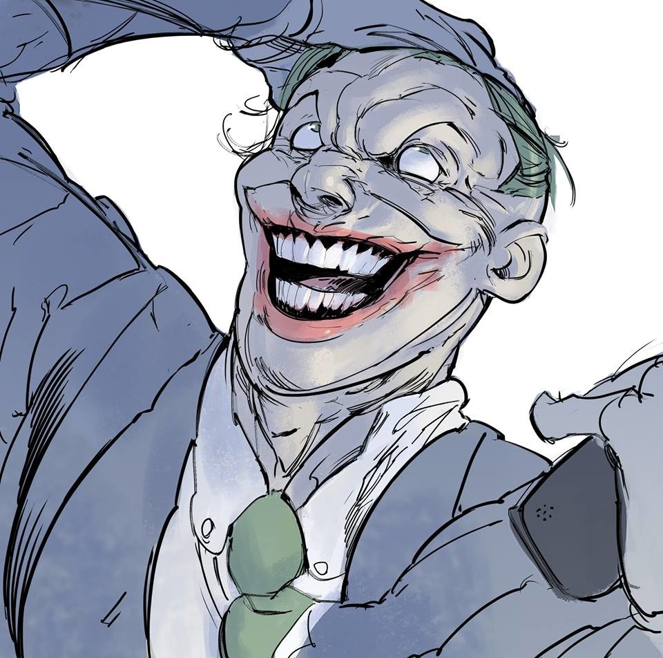 It seems that the world is going to hell, starting with my country Venezuela, very sad to see these selfish dudes with power... it's a bit strange to express my complaint drawing the Joker but I guess that's how I see the leaders currently