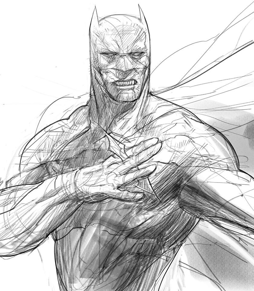 Batman challenge only for today, I'm a mess with line art for comics so now I'm studying some stuff
