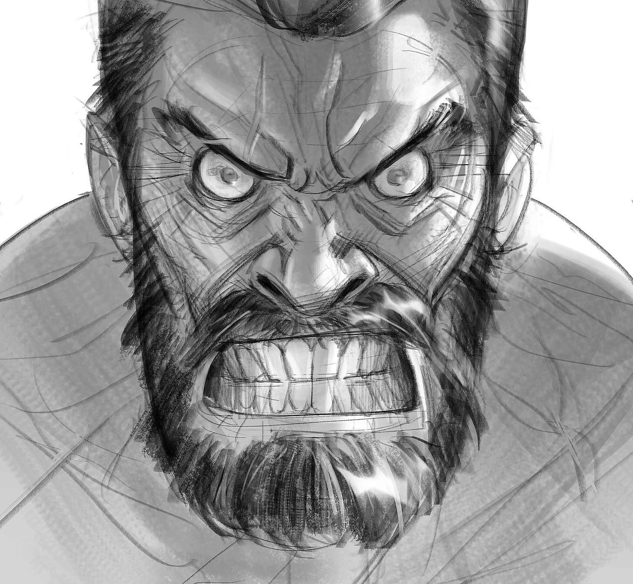 At some point I will get tired to draw Logan but not today! what you think about the movie?