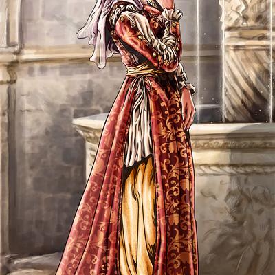 Axelle bouet eteoclienne robe final