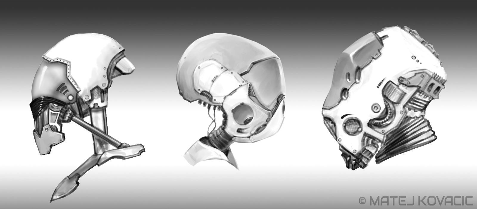 Robot Helmet Design