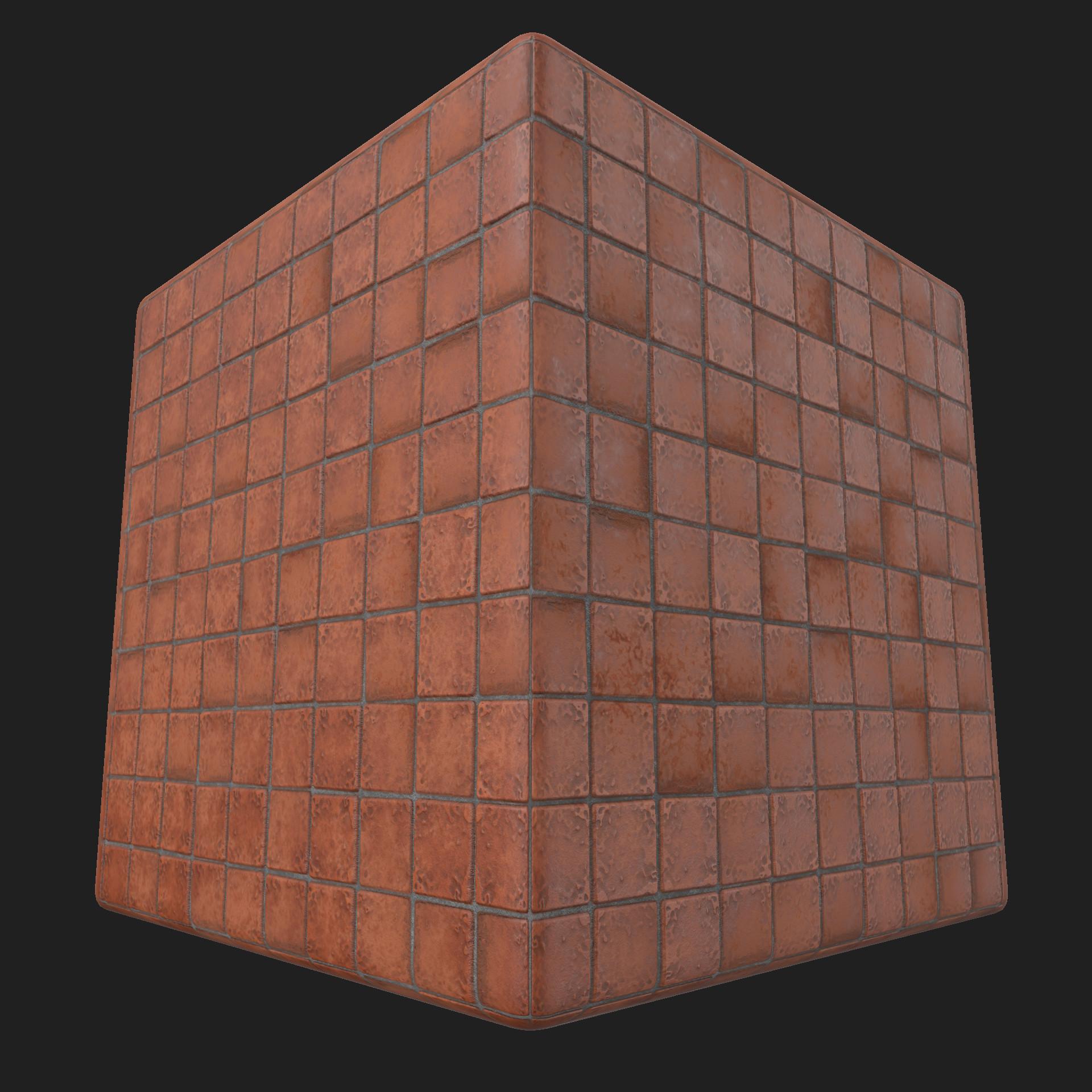 James ray terracotta tiles 1