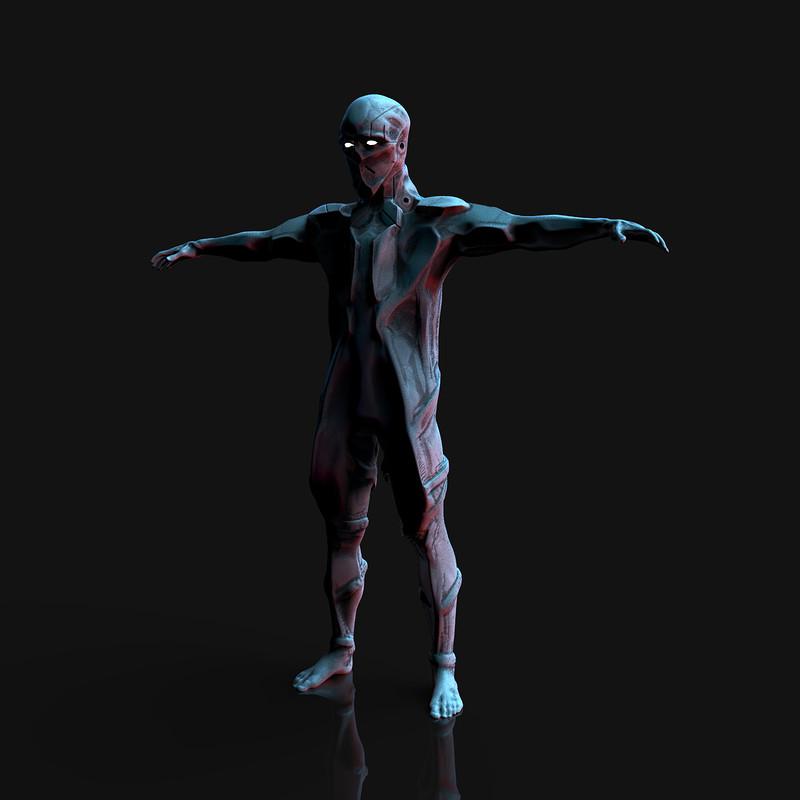 Bionic dude