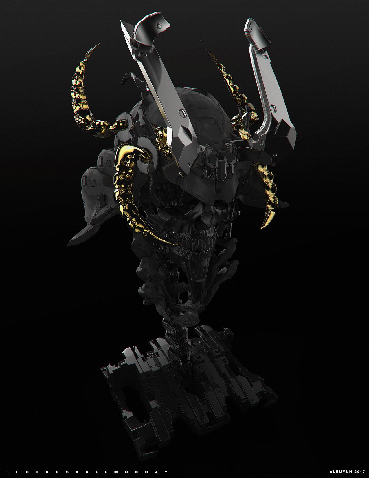Andre lang huynh skull1