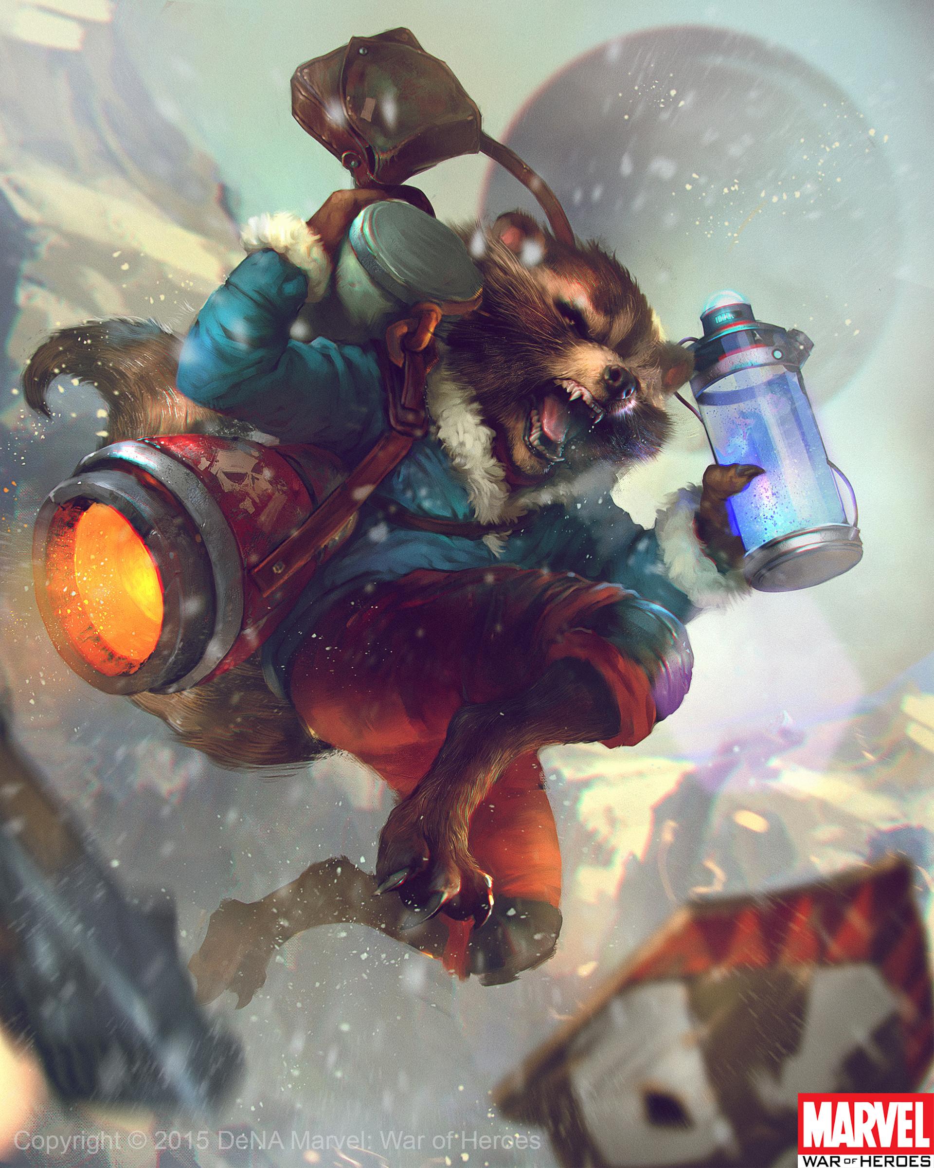 Denys tsiperko rocket raccoon evo1