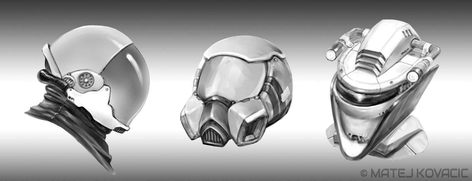 Robot Helmet Design 002