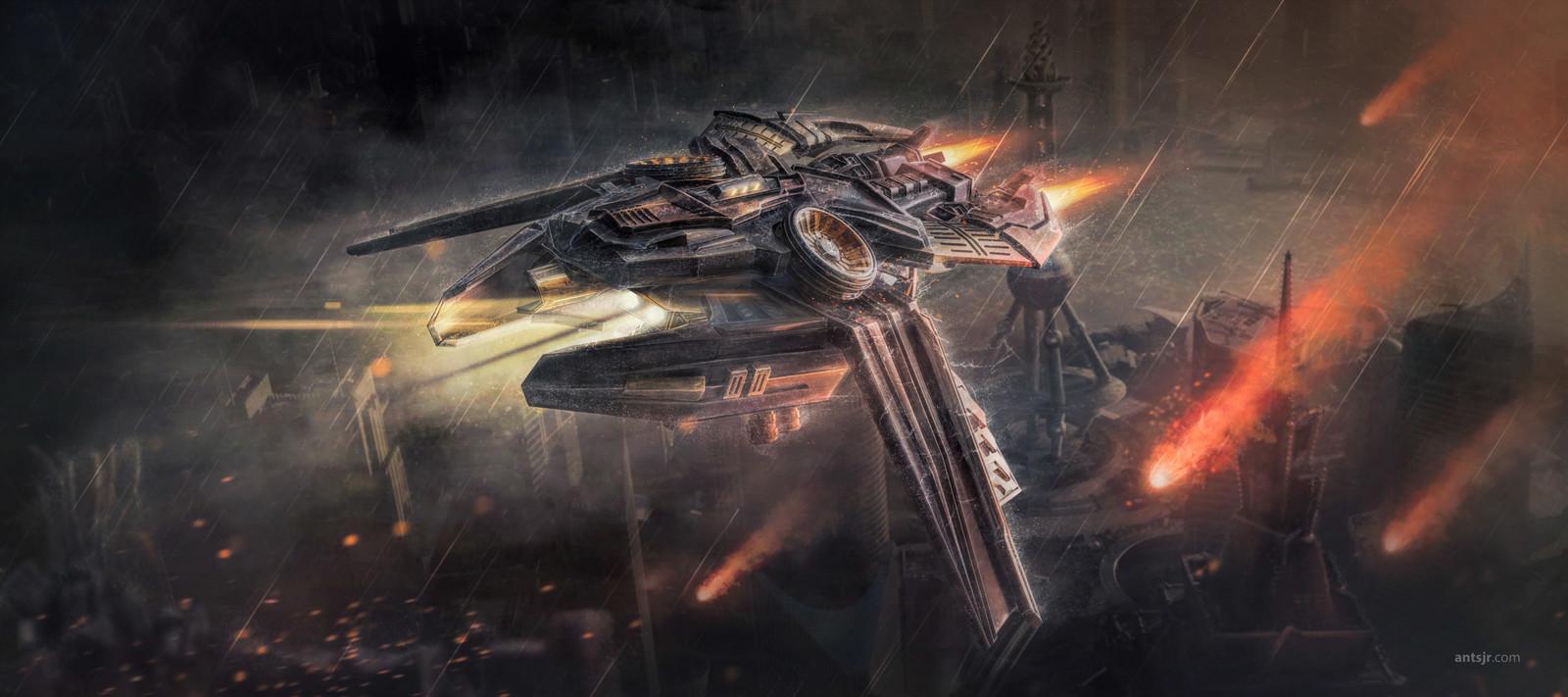 Starship - Final Artwork