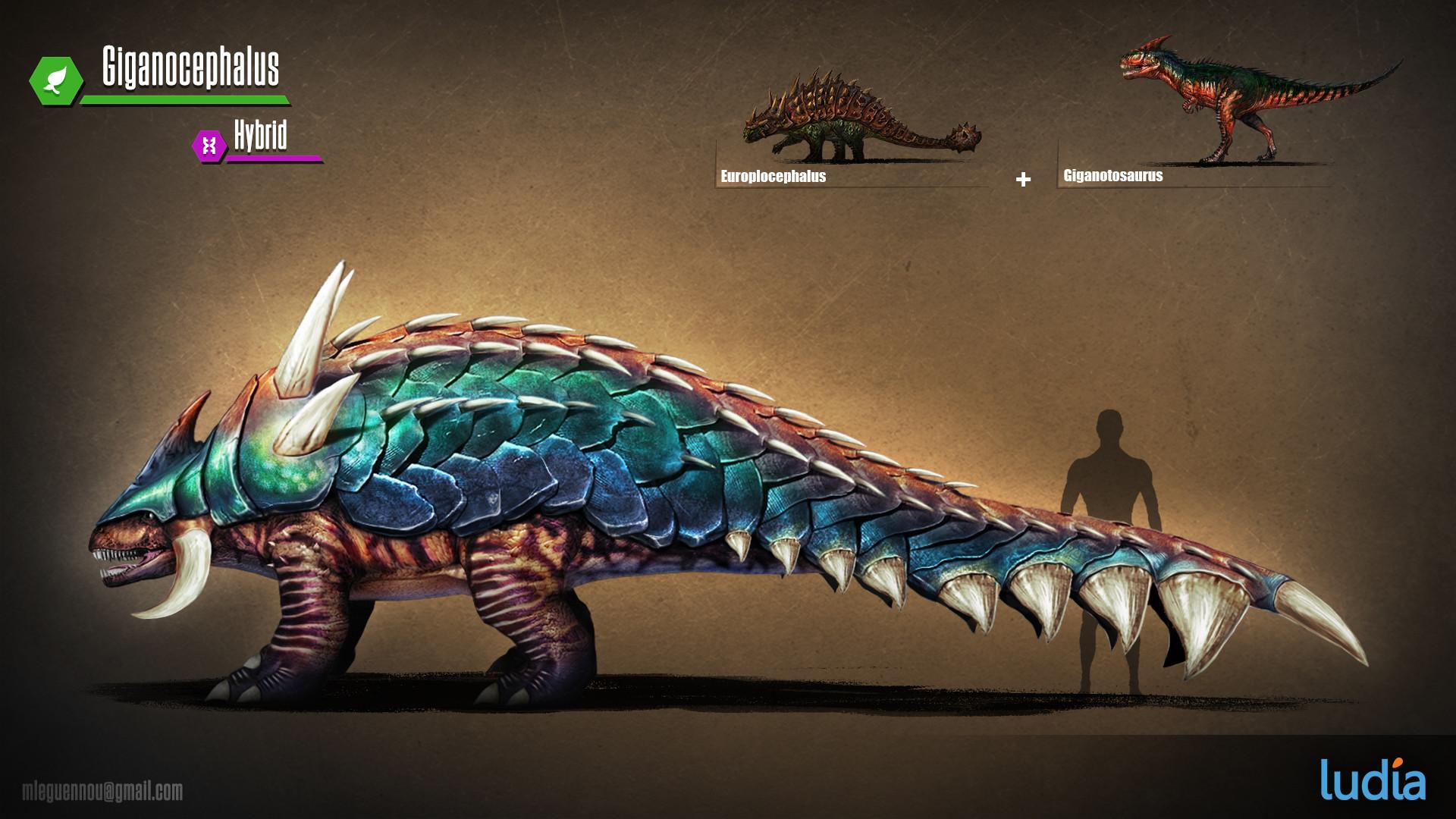 Artstation Creature Design For Jurassic World The Game Mad Panic