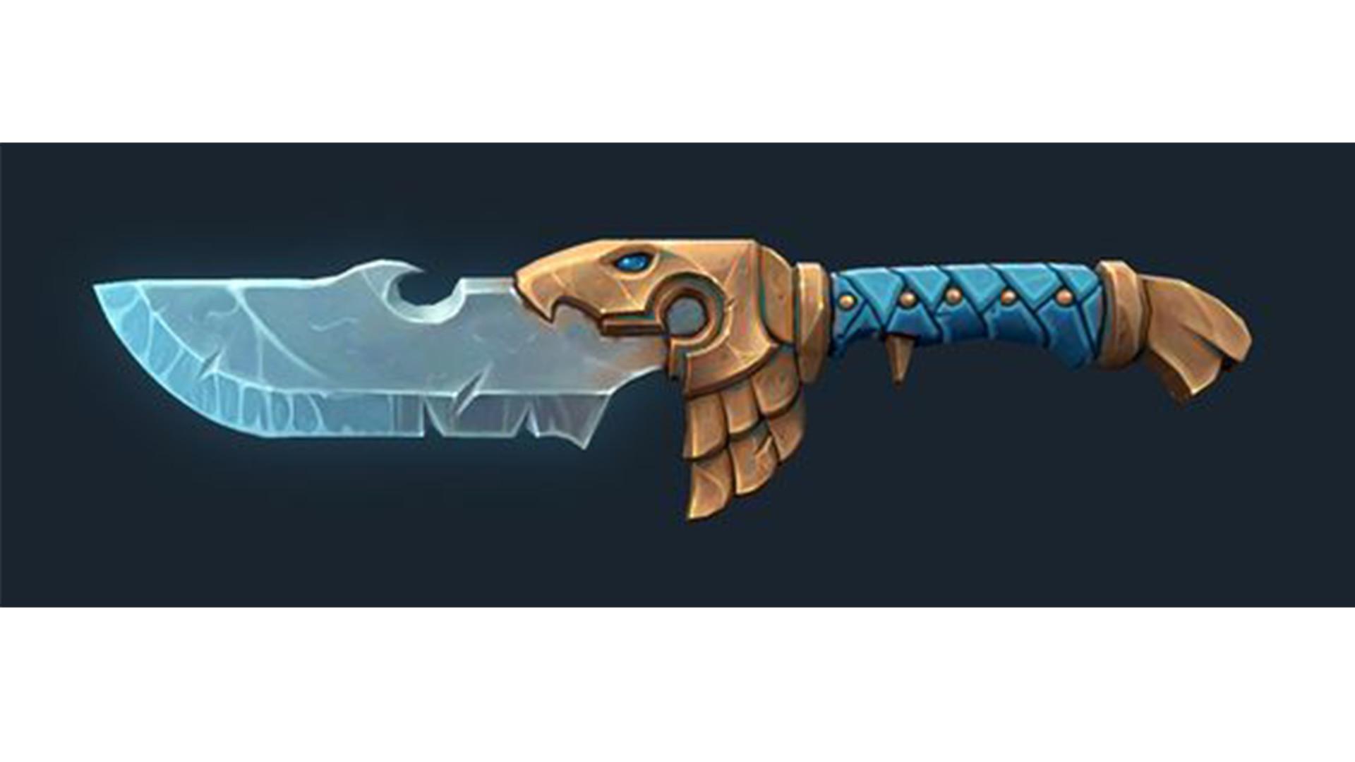 eric rivera stylized fantasy dagger