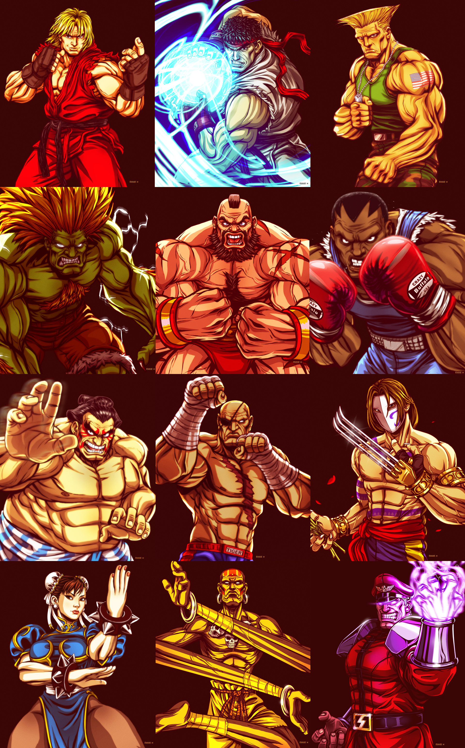 Eddie holly street fighters