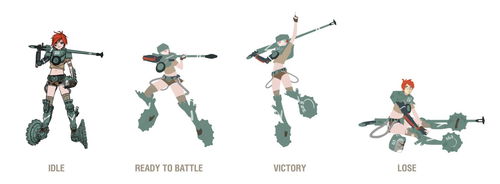 AMX Poses