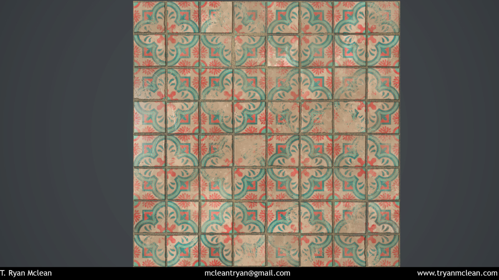 Cuban-inspired Wall tile.