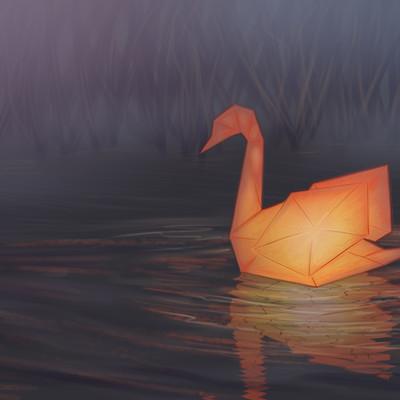 Mary madewell mute swan lantern final