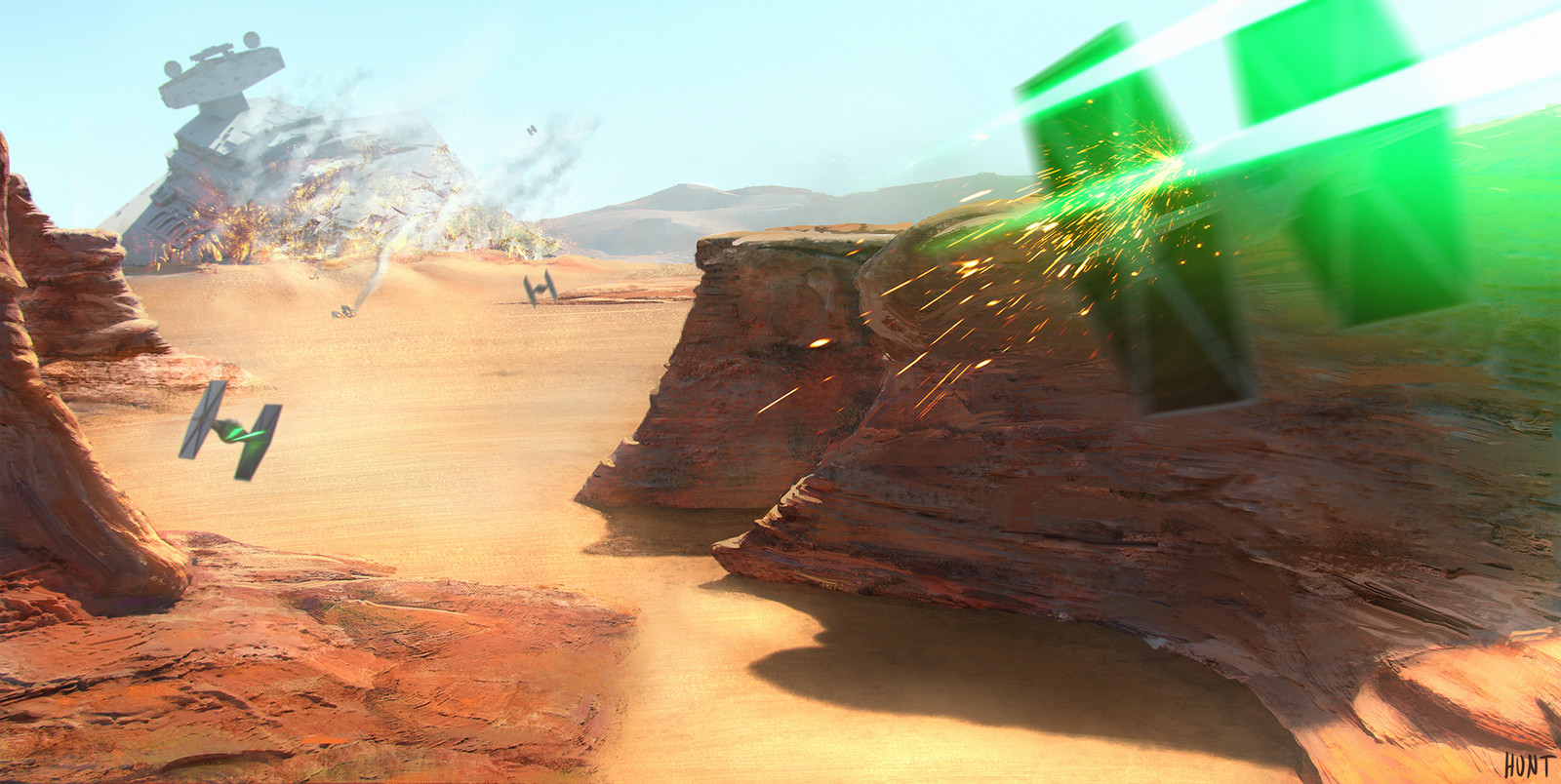 Tie Fighter Canyon