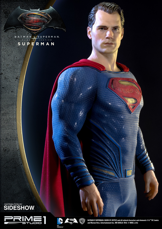 Alvaro ribeiro dc comics batman v superman superman half scale polystone statue prime 1 902664 01