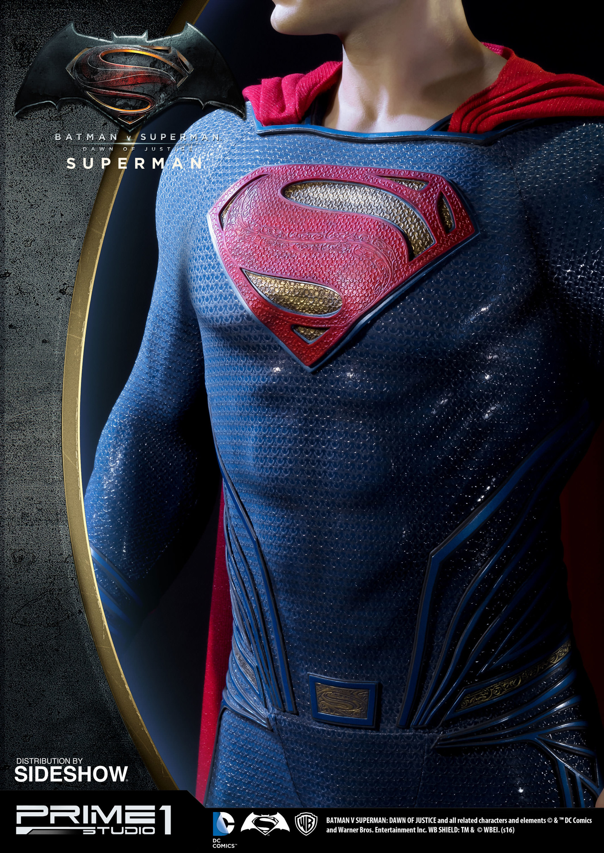 Alvaro ribeiro dc comics batman v superman superman half scale polystone statue prime 1 902664 19