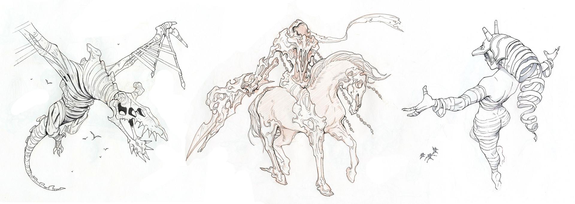 Mirko Mazzucco Sketchbook Designs