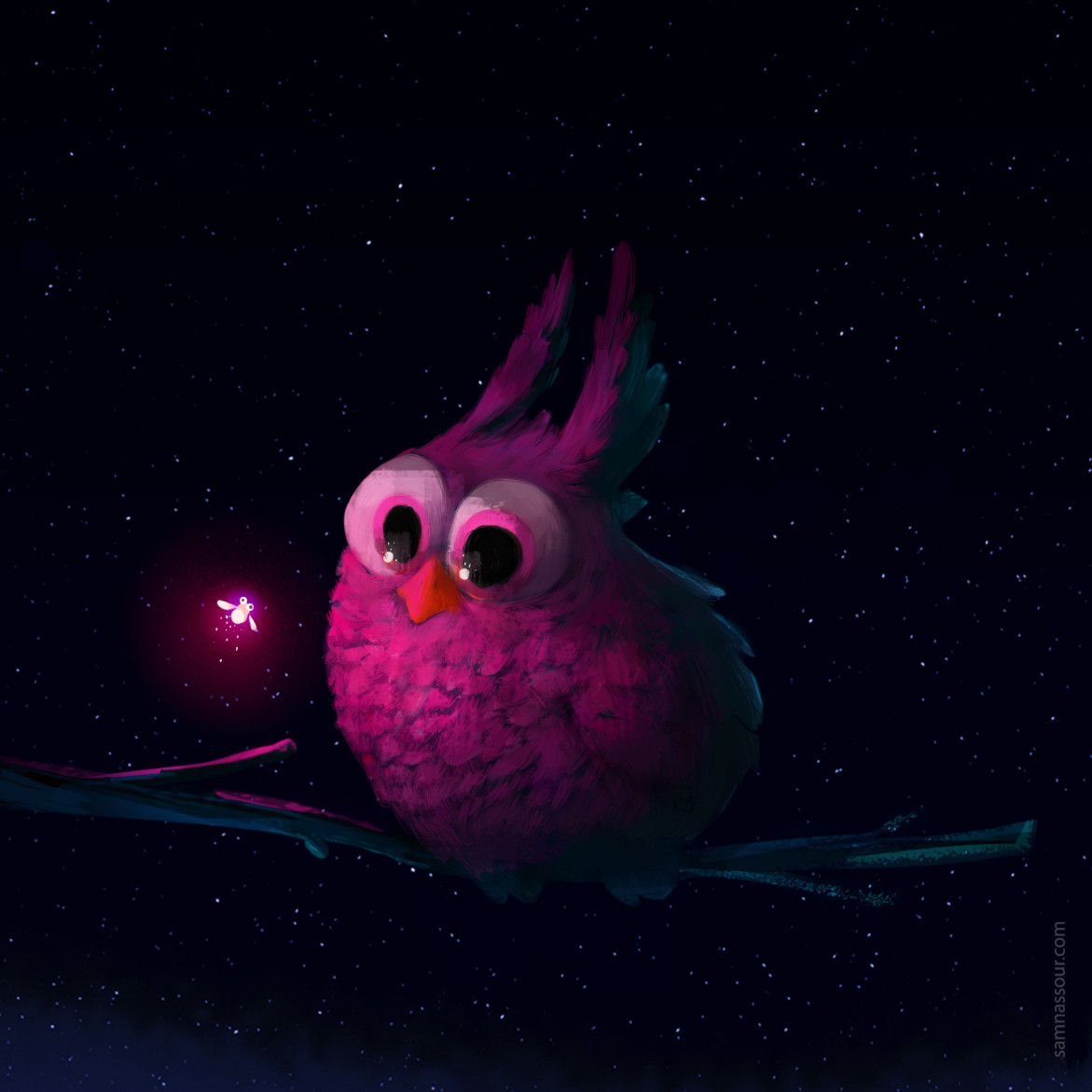 Pink FIrefly