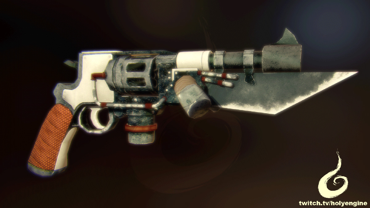 Steam Punk Gun Concept
