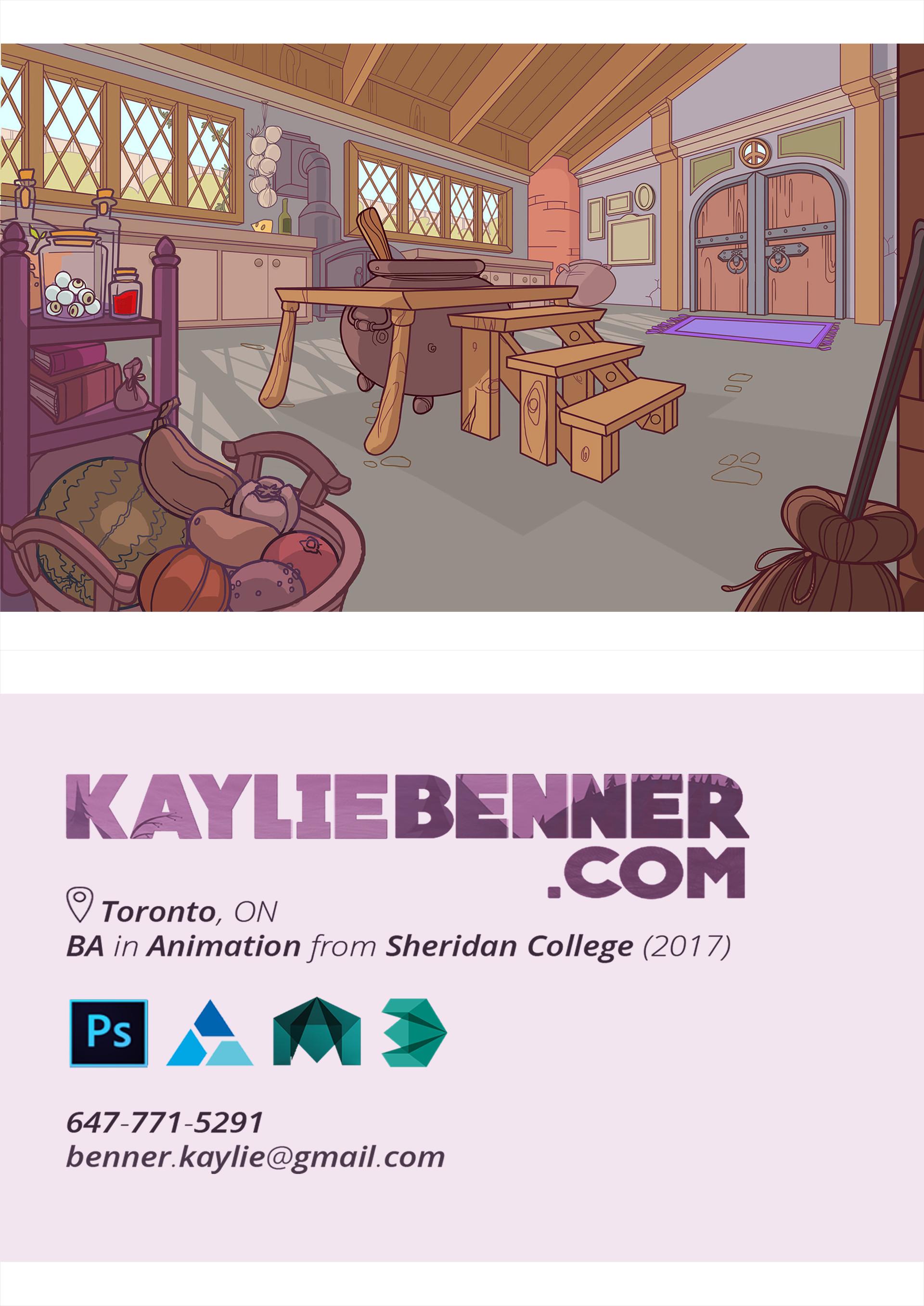 Kaylie benner postcard1