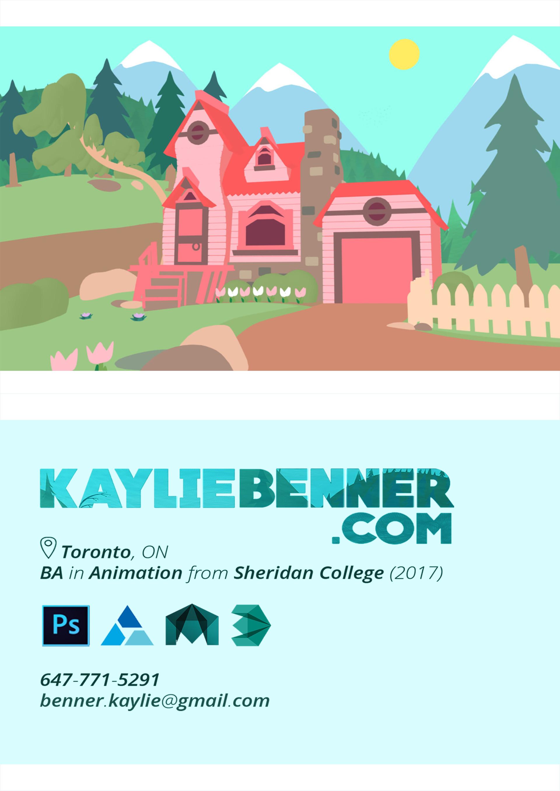Kaylie benner postcard2