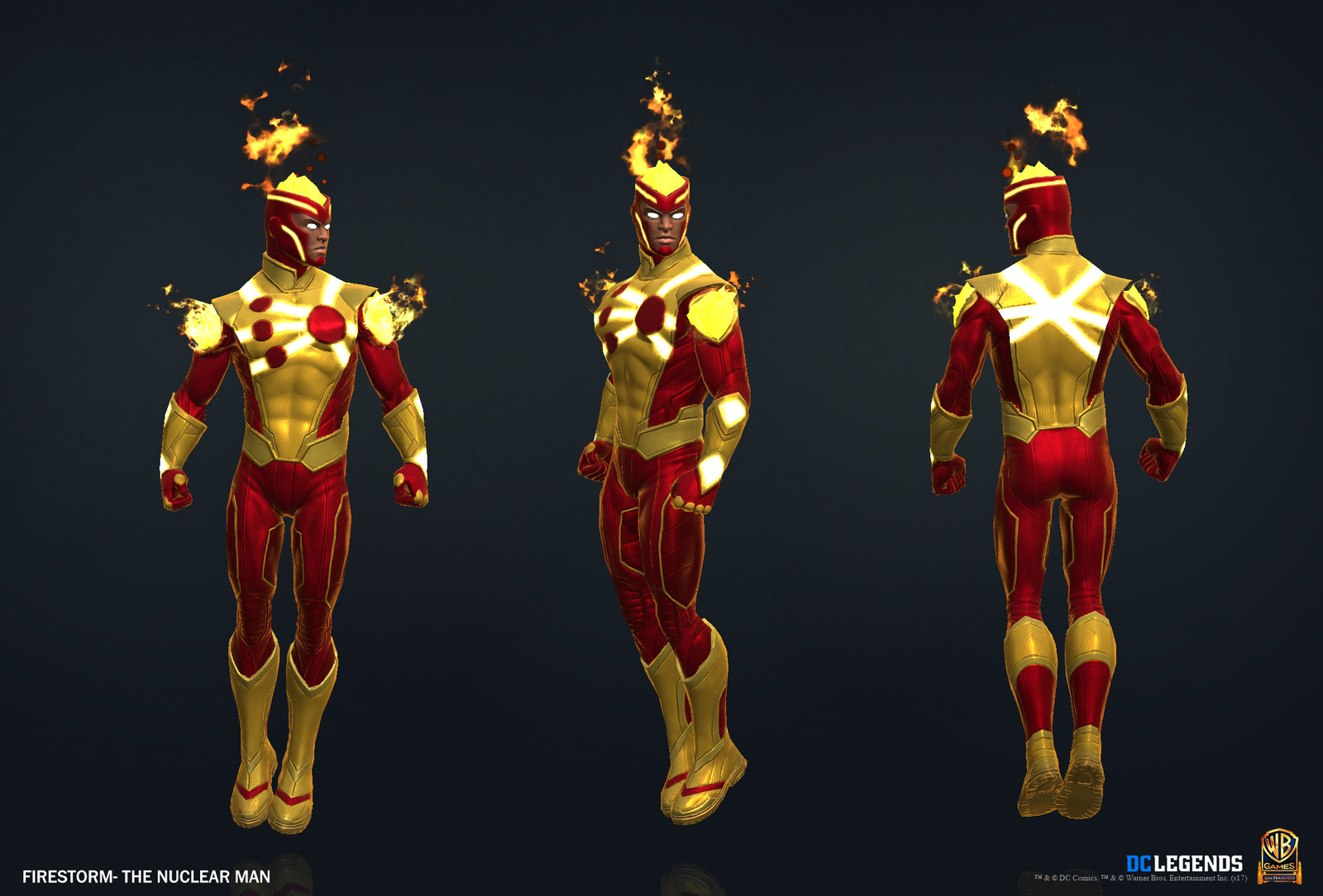 Firestorm Heroic.  High Poly, Low Poly and Textures/Material work done by me. VFX created by Alex Mangulabnan.