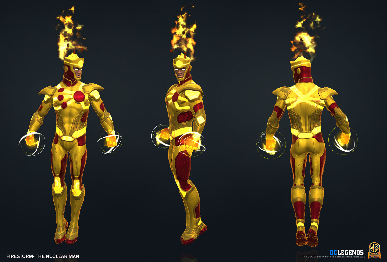 Firestorm Legendary. High Poly, Low Poly and Textures/Material work done by me. VFX created by Alex Mangulabnan.