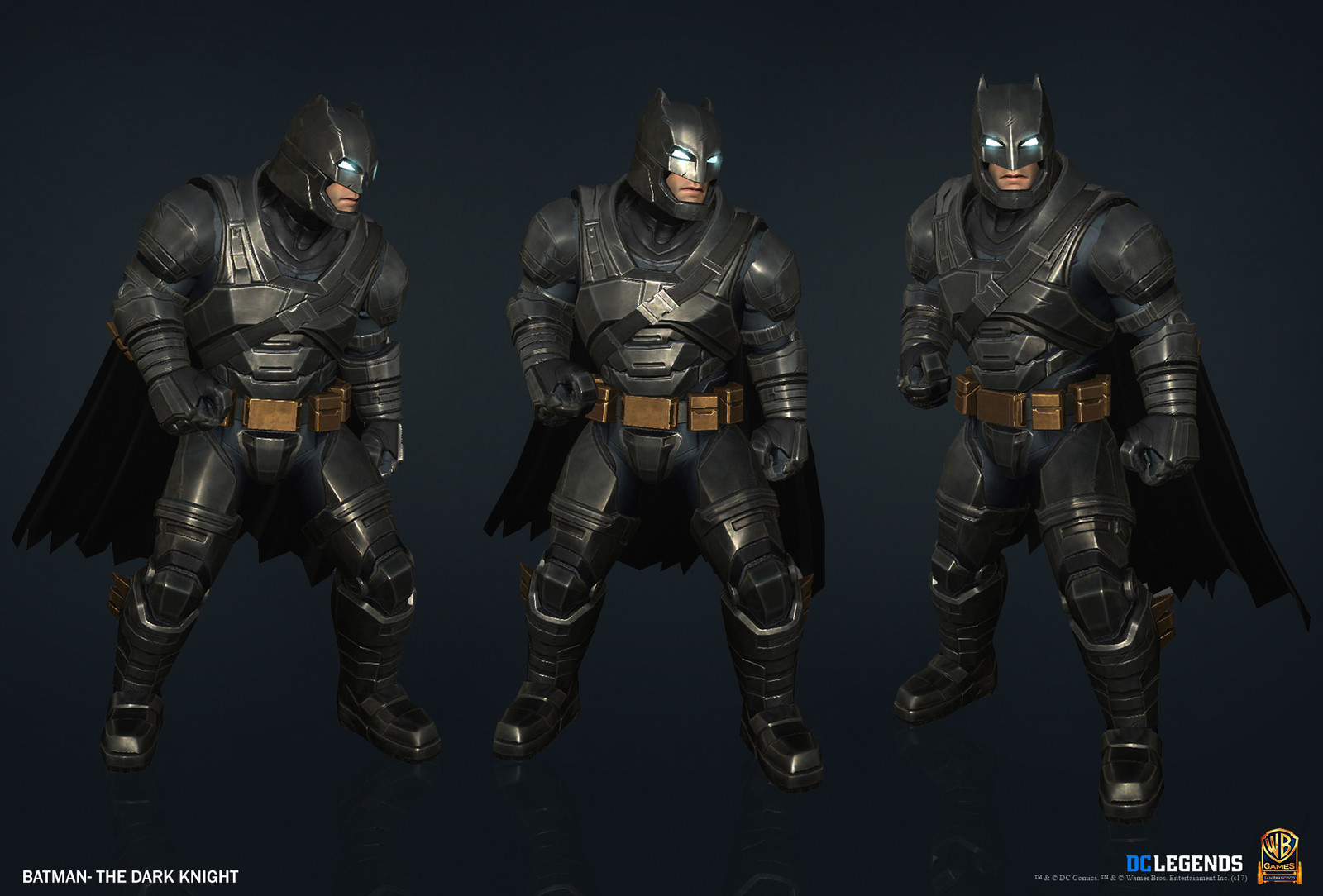 Batman The Dark Knight Heroic High Poly, Low Poly and Textures/Material work done by me.