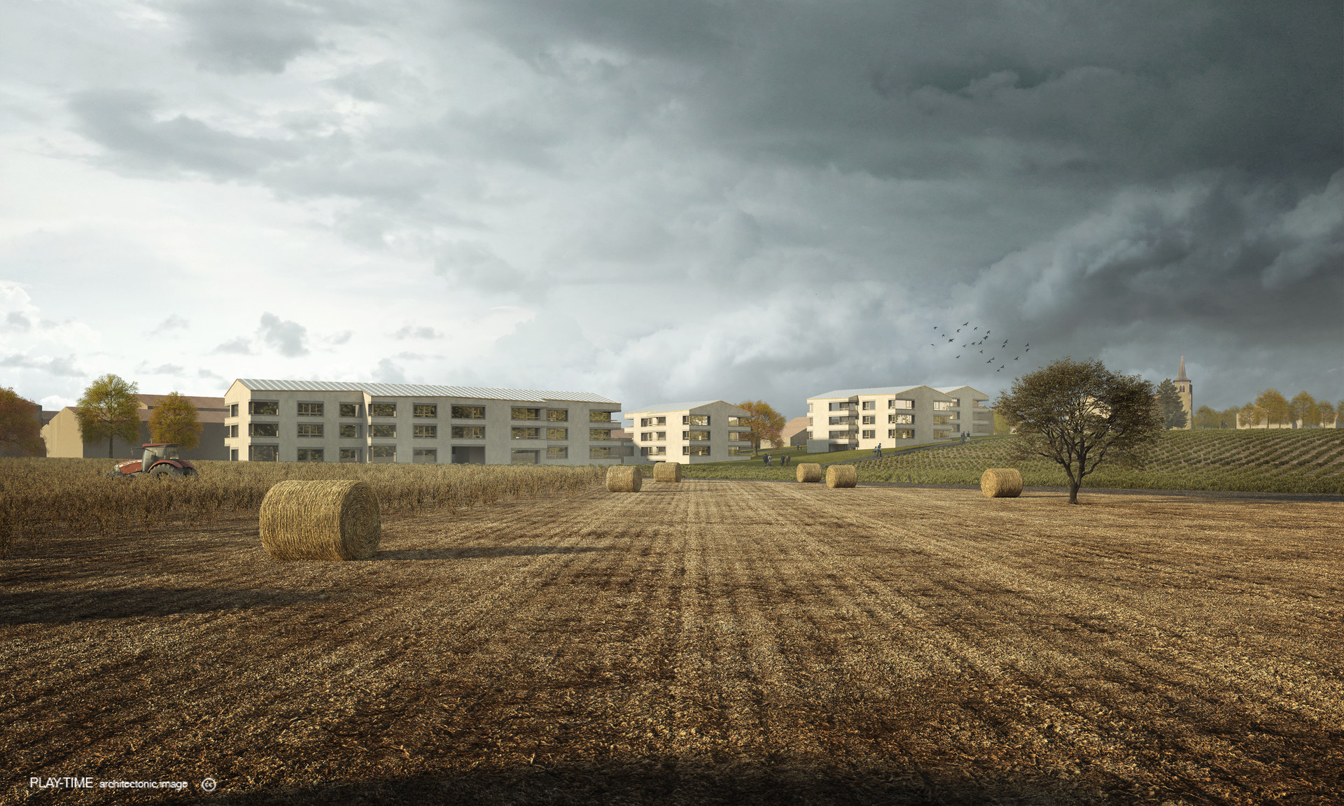 Play time architectonic image bcr architectes housing collex bossy 2n prize