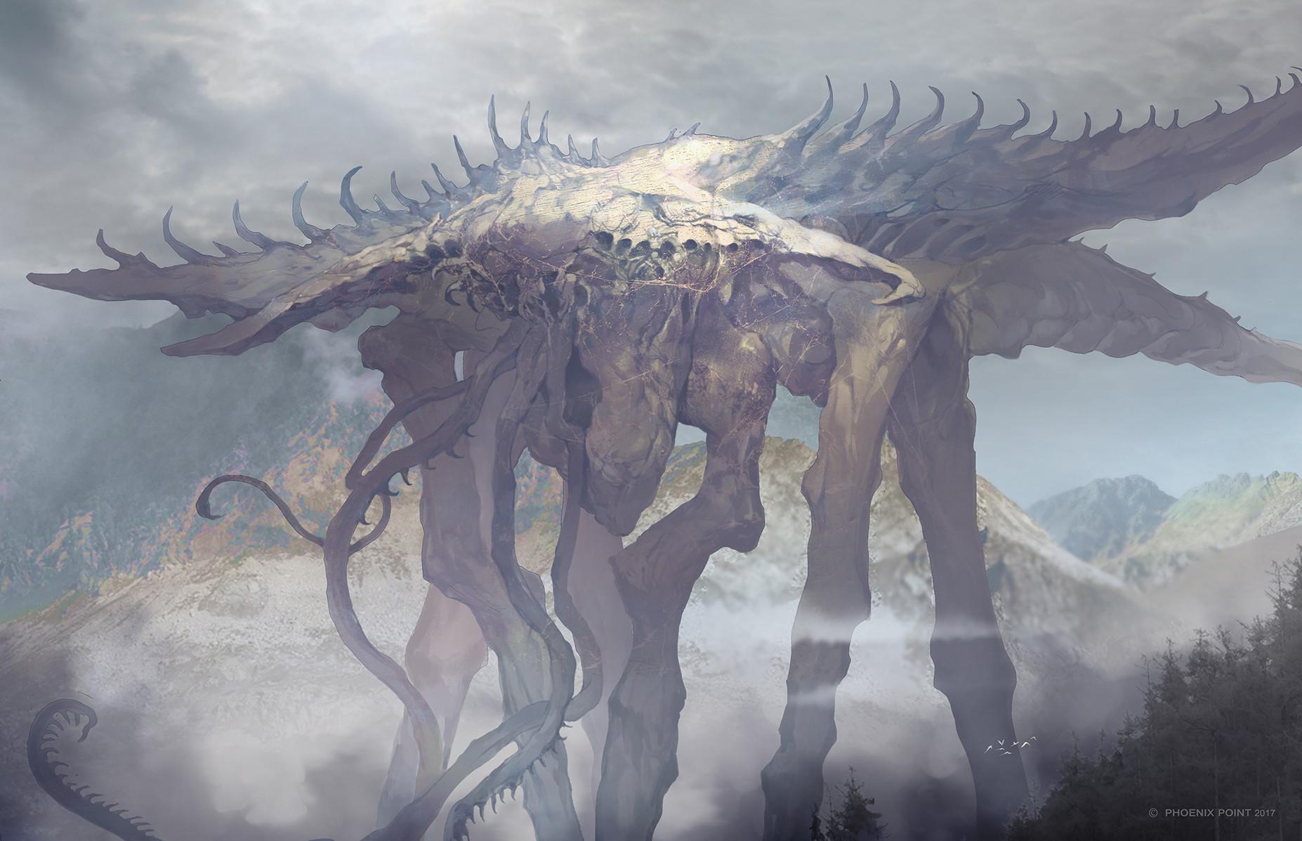 Alien Bases Phoenixpoint