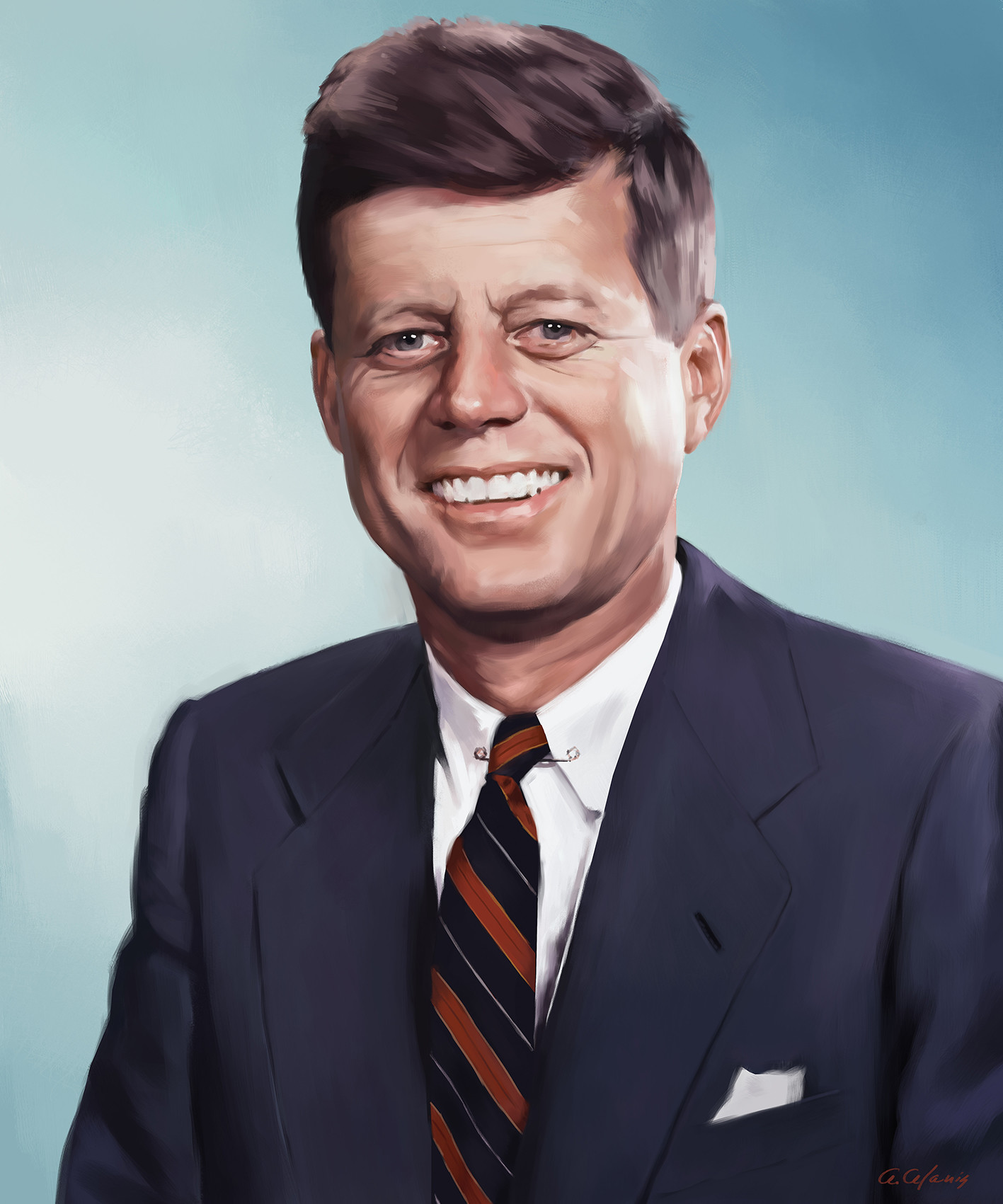 a biography of john f kennedy as the 35th president of the united states John f kennedy was the 35th president of the united states he served from 1961-1963 he was born on may 29, 1917 in brookline however, he used his great charm, used his biography and used a large amount of his family's money to win the primary democratic votes in a few small states.