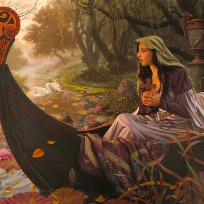 Raoul vitale lady of shalott