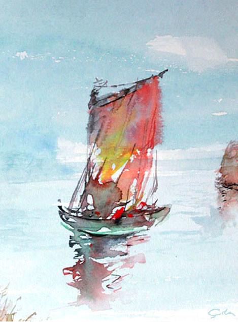 Emrullah cita boat watercolor