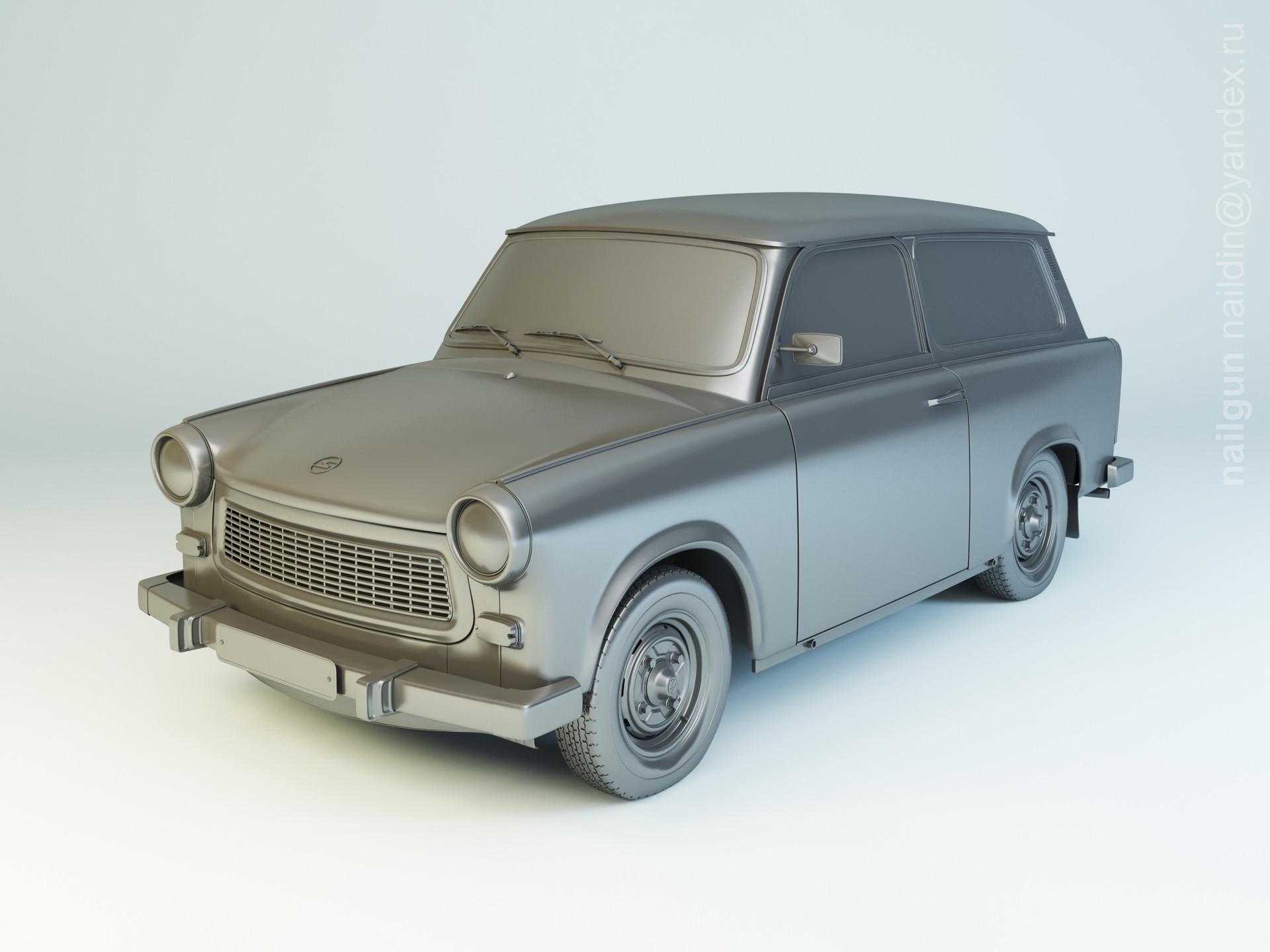 Nail khusnutdinov pwc 023 004 trabant 601 combi modelling 0