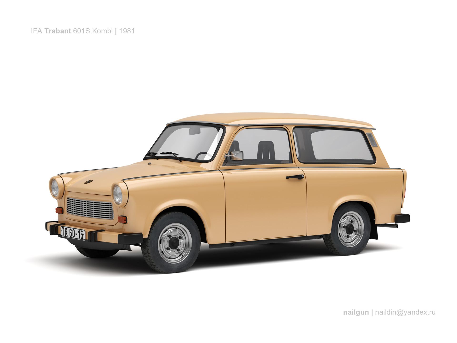 Nail khusnutdinov sw trabant 601s kombi 0