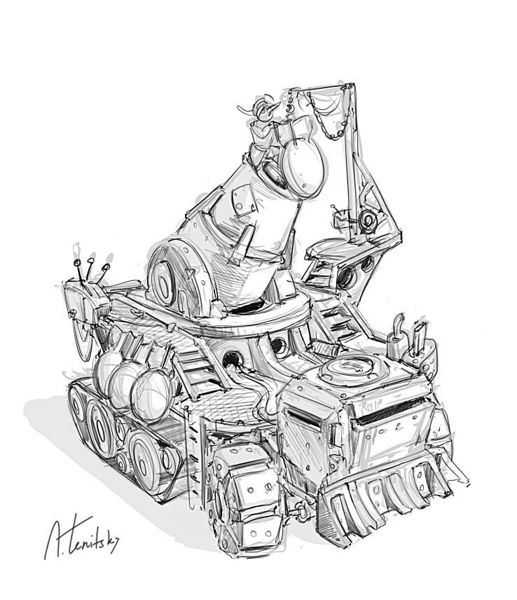 Anton tenitsky warhammer vehicle anton tenitsky