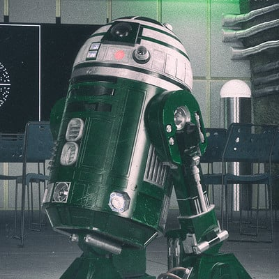 Paul wiz johnson star wars r2 x2