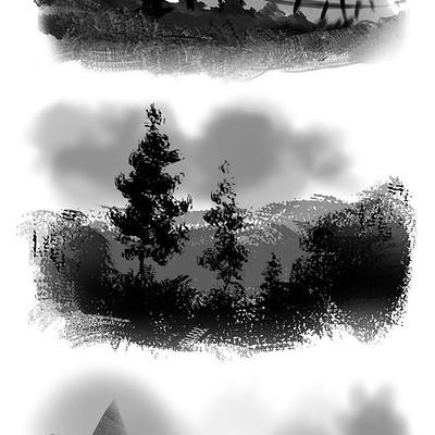 Emrullah cita grayscale sketch
